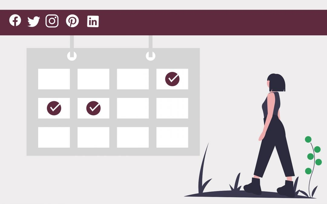Infographic: How to schedule social media in 2021